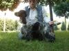 Braden po zdobyciu Res. CACIB-u zażyczył sobie pamiątkową fotografię (CACIB winner Braden asked for commemorative photo)
