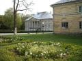 Zaprojektowany przez Jakuba Kubickiego klasycystyczny pałac w Młochowie